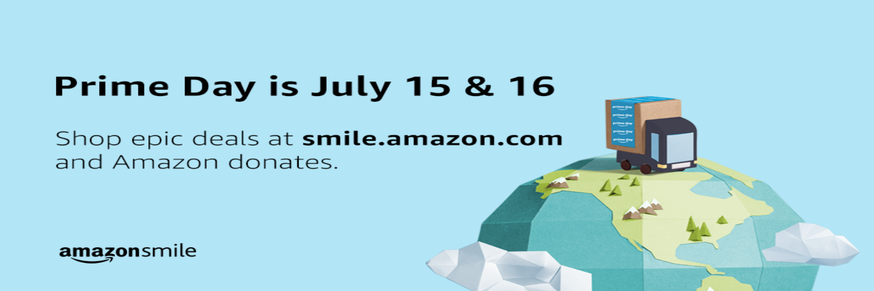 Prime Day at Amazon Smile