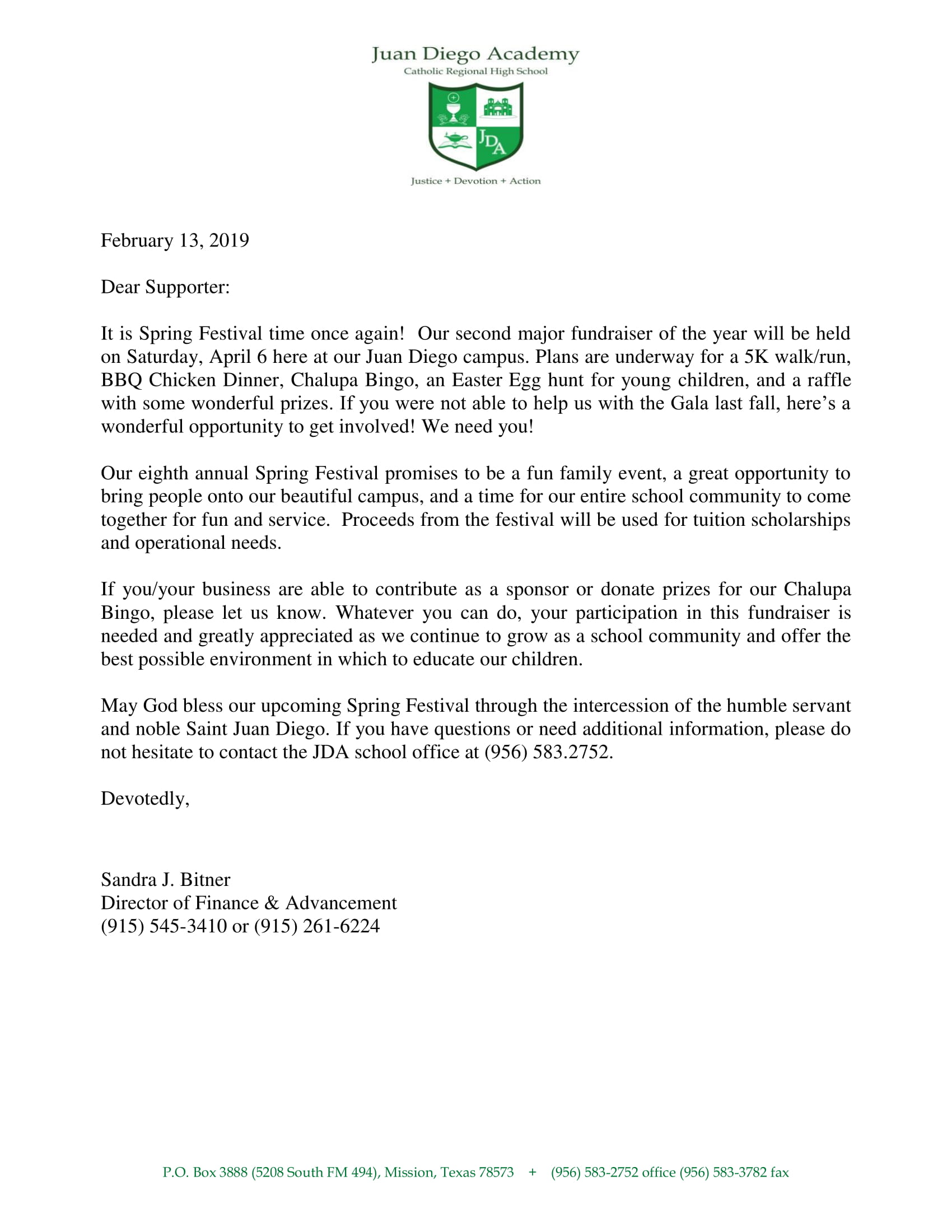 SF Supporter Letter 2019