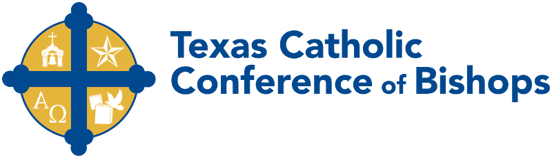 Texas Catholic Conference of Bishops logo
